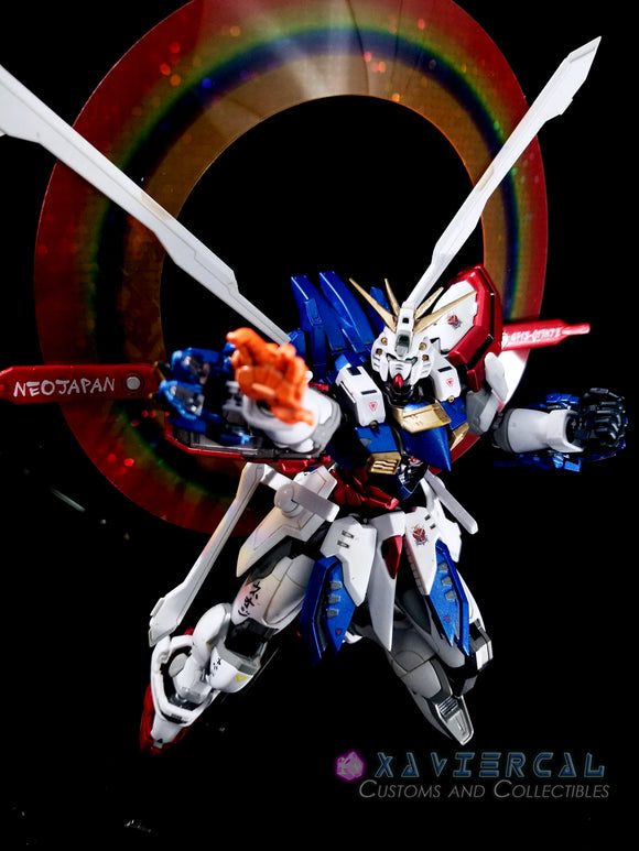 Xavier Cal Custom 1/100 Hi-Resolution G Gundam - God Gundam