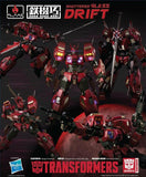 Flame Toys Kuro Kara Kuri Transformers IDW Shattered Glass Drift