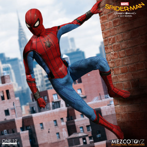 Mezco One:12 Collective Marvel Spider-Man Homecoming: Spider-Man Pre-order