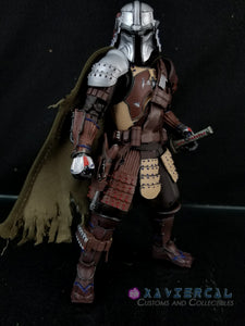 Xavier Cal Custom Star Wars The Mandalorian Movie Realization - Samurai Mandalorian
