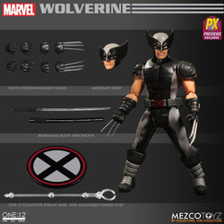 Mezco One:12 Collective Marvel Wolverine (X-Force) PX Previews Exclusive