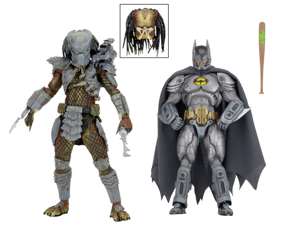"SDCC 2019 NECA DC/Dark Horse – 7"" Scale Action Figures – Batman vs Predator 2-Pack"
