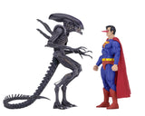 "SDCC 2019 NECA DC/Dark Horse – 7"" Scale Action Figures – Superman vs Aliens 2-Pack"