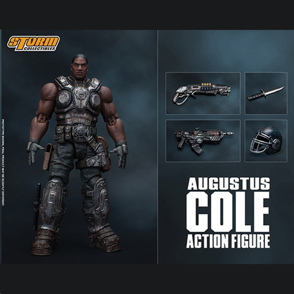 Storm Collectibles 1:12 Gears of War - Augustus Cole Pre-order