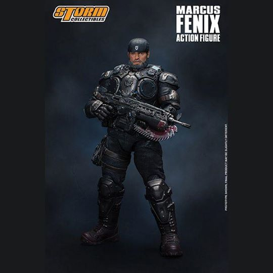 Storm Collectibles 1:12 Gears of War - Marcus Fenix