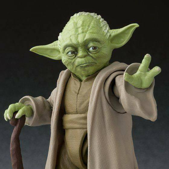 S. H. Figuarts Star Wars Episode 3: Revenge Of The Sith - Yoda Tamashii Web Exclusive Pre-order