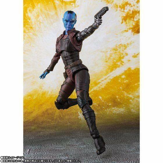 S. H. Figuarts Avengers: Infinity War - Nebula Japanese Release