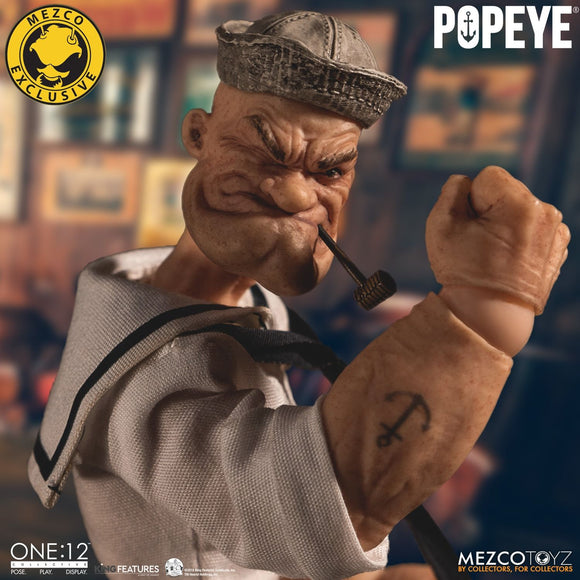 Mezco One:12 Collective Popeye - Deluxe Sailor Edition