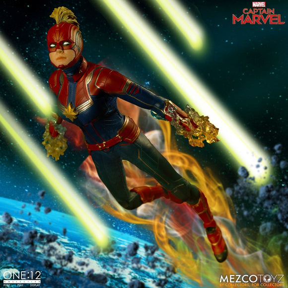 Mezco One:12 Marvel Captain Marvel Pre-order