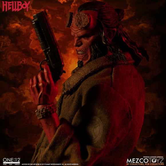 Mezco One:12 Collective Hellboy (2019) Pre-order