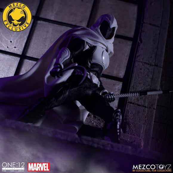 SDCC 2019 Mezco One:12 Collective - Moon Knight Crescent Edition