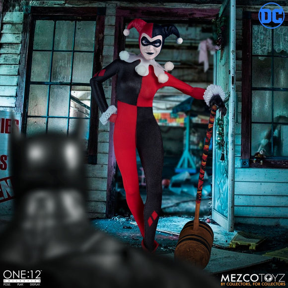 Mezco One:12 Collective DC :  Harley Quinn Deluxe Edition Pre-order