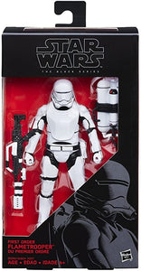 "Star Wars: The Black Series 6"" -  First Order Flame Trooper"