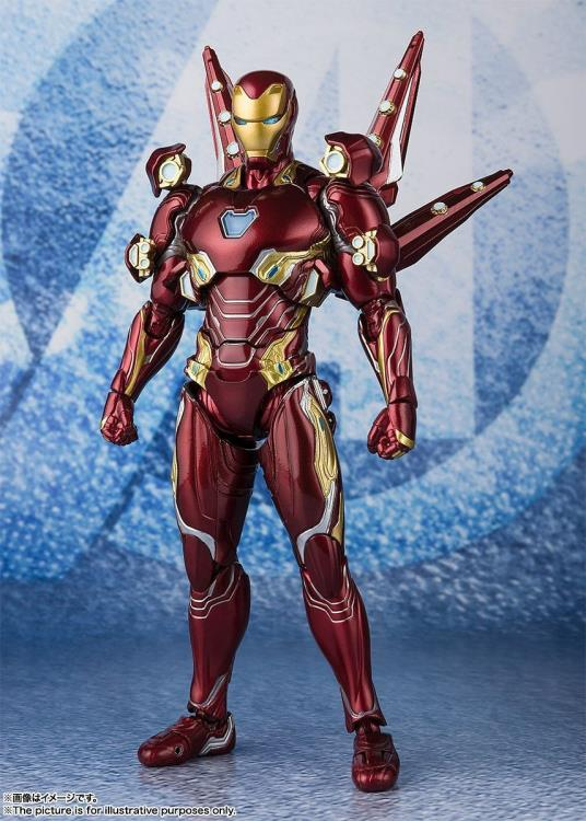 S. H. Figuarts Avengers: Endgame - Iron Man Mark 50 Nano Weapon Set 2 US Release Ver. Pre-order