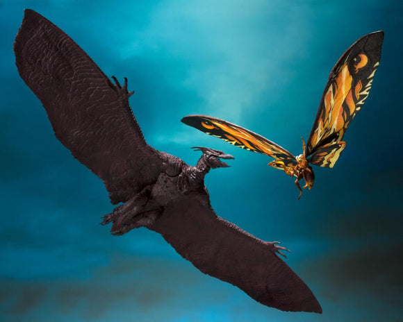 S. H. Monsterarts Godzilla: King of the Monsters 2019 - Mothra & Rodan Set