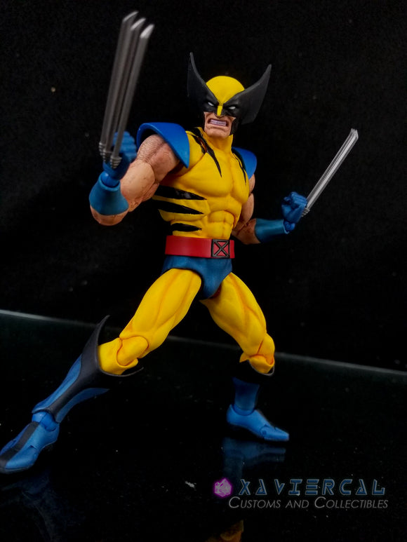 Xavier Cal Custom Mafex Marvel X-Men - Wolverine