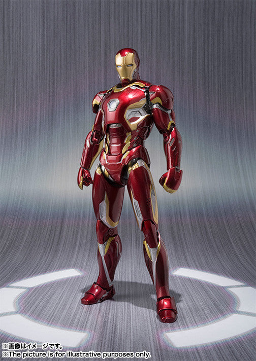 S. H. Figuarts Avengers Age of Ultron Iron Man Mark 45
