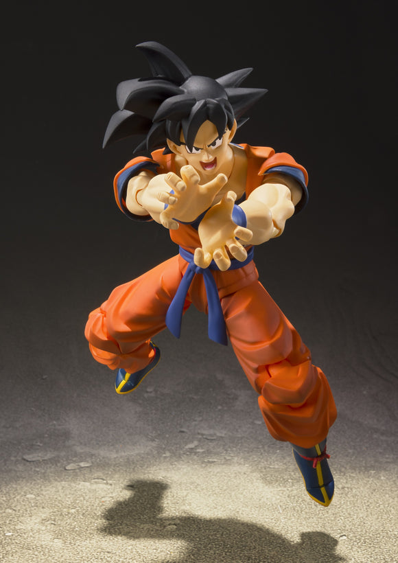 S. H. Figuarts Dragon Ball Z A Saiyan Raised On Earth - Son Goku Re-issue Pre-order