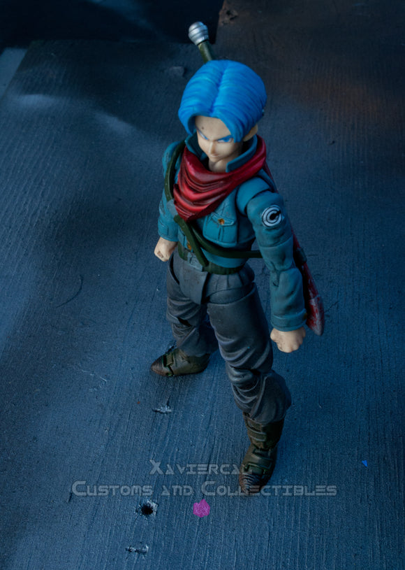 Xavier Cal Custom: S. H. Figuarts Dragon Ball Super: Future Trunks