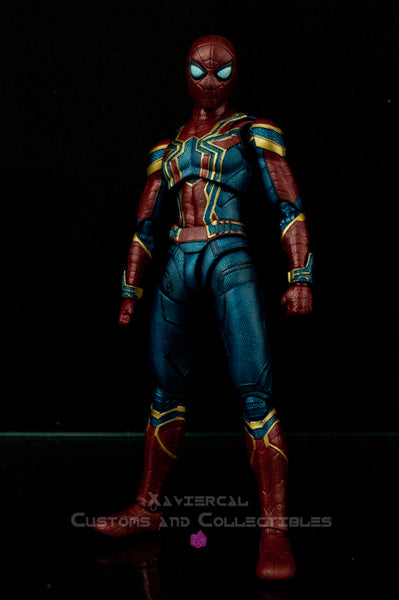 Xavier Cal Custom S. H. Figuarts Avengers: Infinity War - Iron Spider Metallic Colors