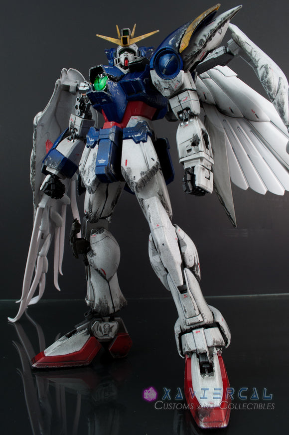 Xavier Cal Custom Gundam Wing Endless Waltz - Perfect Grade 1/60 - Wing Zero Final Battle