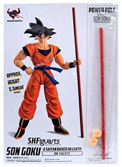 S. H. Figuarts Dragonball Z Goku Raised On Earth Power Pole Add-on SDCC 2018 Exclusive