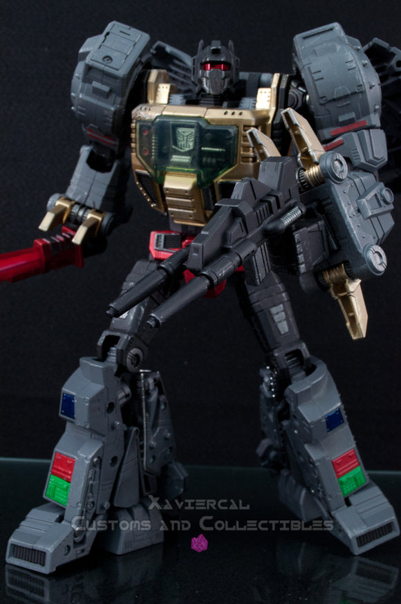 Xavier Cal Custom: Transformers Masterpiece MP-08 Grimlock