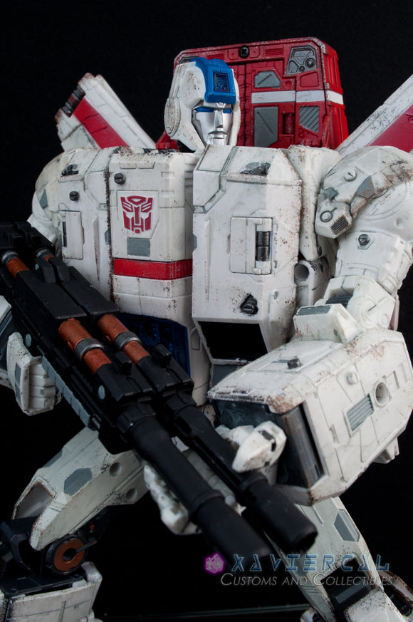 Xavier Cal Custom Transformers Generations War For Cybertron - Siege Jetfire