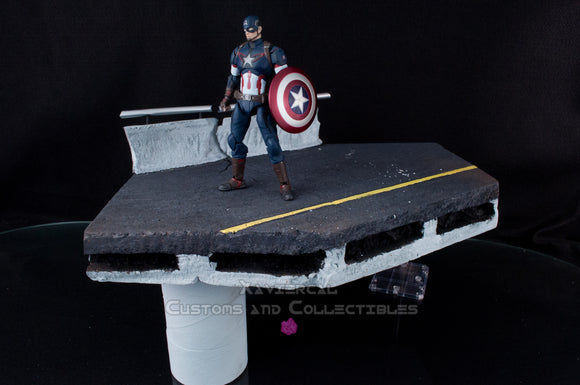 Xavier Cal Custom Diorama - Bridge Overpass