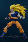 Xavier Cal Custom S. H. Figuarts Dragon Ball Z Wrath of the Dragon - Super Saiyan 3 Goku
