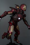 Xavier Cal Custom: Battle Damage Hot Toys Iron Man Mark 9