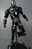 Xavier Cal Custom: Hot Toys Iron Man Mark XL –  Black Shotgun