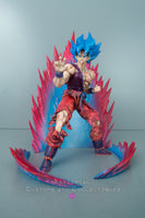 Xavier Cal Custom S. H. Figuarts Dragon Ball Z Super Saiyan Blue God Goku Kaioken