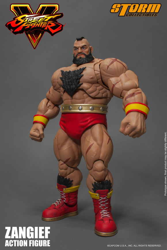 Zangief Street Fighter V Storm Collectibles 1:12