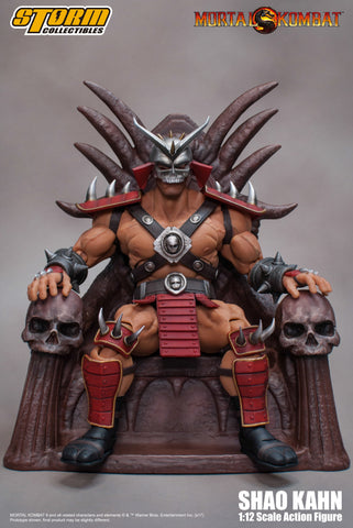 Shao Kahn Mortal Kombat Storm Collectibles 1:12 Action Figure Pre-order