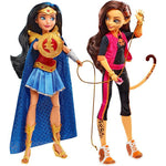 SDCC Exclusive DC Super Hero Girls Wonder Woman & Cheetah Dolls