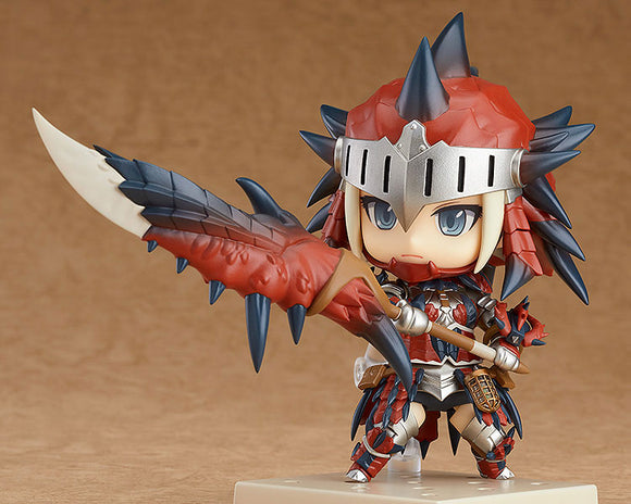 Nendoroid Monster Hunter - Female Hunter Rathalos Armor Edition DX Version