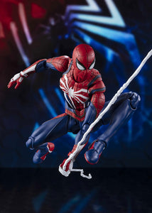 S. H. Figuarts Marvels PS4 Spiderman - Spiderman Advanced Suit First Press Limited Verion