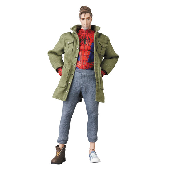 MAFEX Spiderman Into the Spider-Verse - Spiderman Peter B. Parker Pre-order