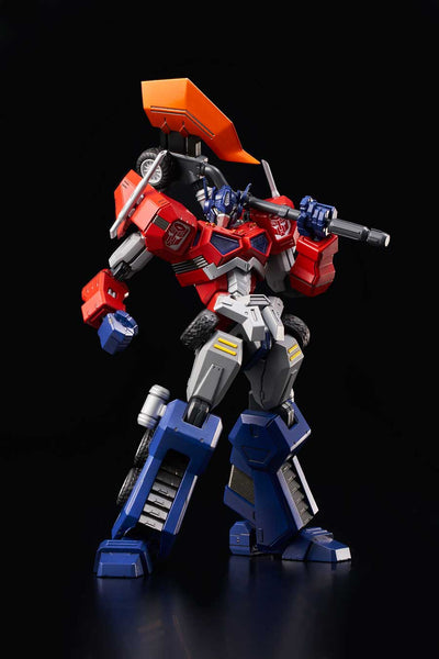 Flame Toys Furai 01 Transformers Optimus Prime Attack Mode Model Kit Pre-order