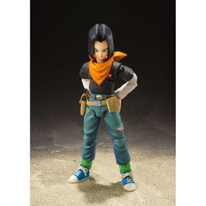 S. H. Figuarts Dragon Ball Z Android 17 - Event Exclusive Color Edition