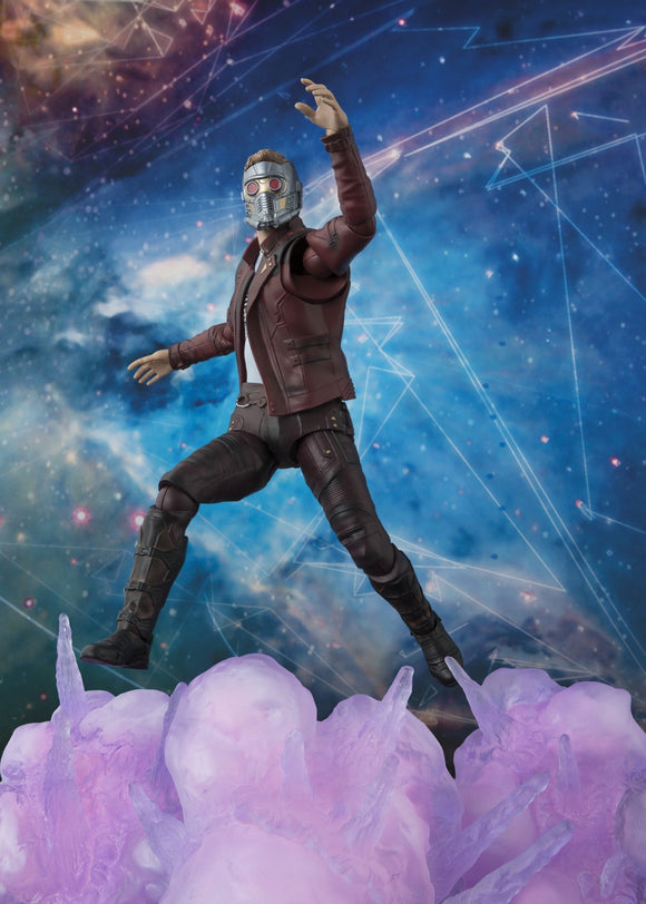S.H. Figuarts Guardians of the Galaxy Vol. 2 - Star Lord With Explosions set