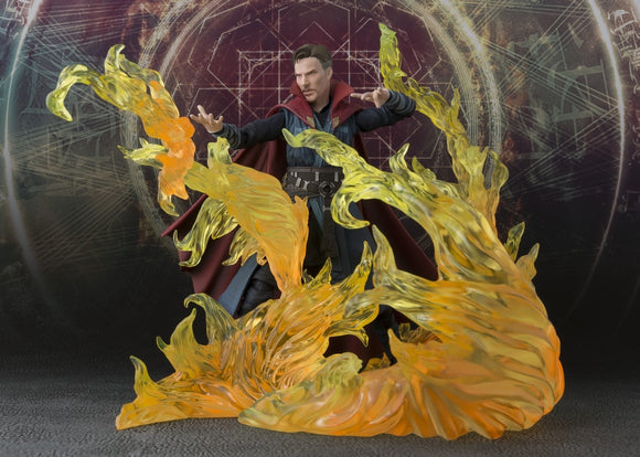S. H. Figuarts Marvel Doctor Strange & Burning Flame Set