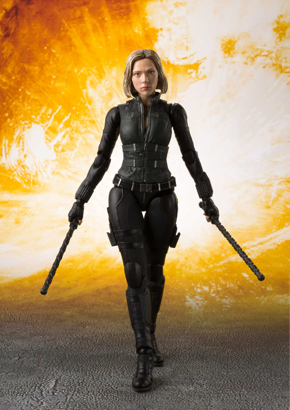 S. H. Figuarts Avengers: Infinity War - Black Widow & Tamashii Effect Explosion