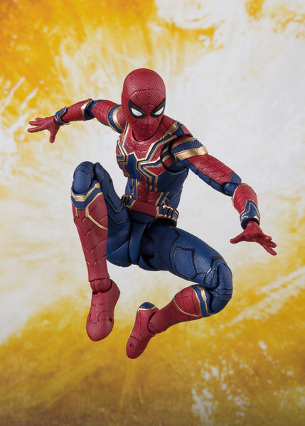 S. H. Figuarts Avengers: Infinity War - Iron Spider & Tamashii Stage