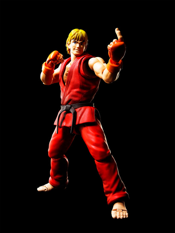 S. H. Figuarts Street Fighter IV - Ken Masters