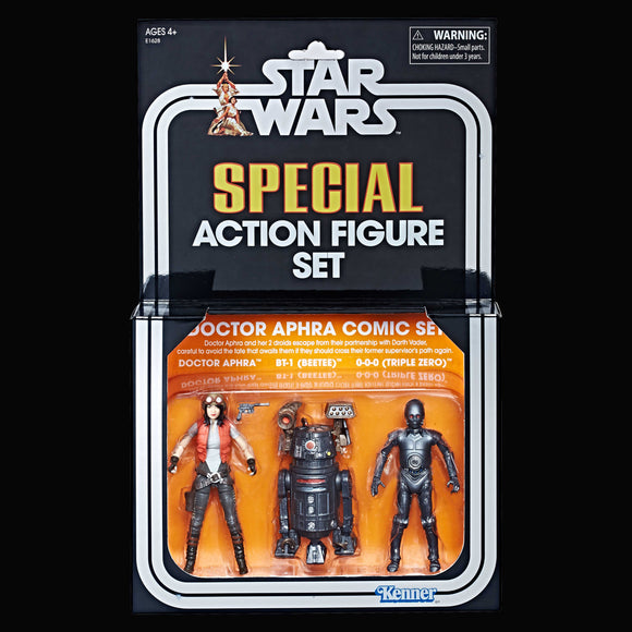 SDCC 2018 Star Wars: The Vintage Collection Doctor Aphra Comic Set