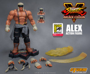 SDCC 2018 Storm Collectibles - Street Fighter V – Alex Variant Color