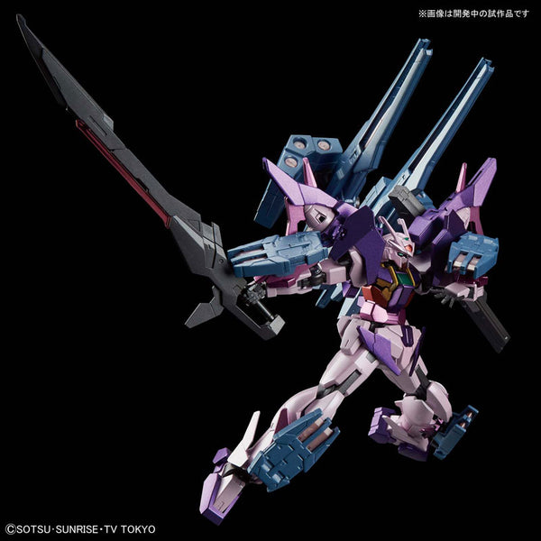 HGBD Gundam 1/144 Gundam Build Divers - Gundam 00 Sky HWS Trans-Am Infinity Mode Model Kit