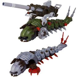 Zoids HMM Series - EMZ-15 Molga & Molga (Canory Unit Equipped Type) Model Kit (Reissue)